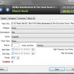 Track Details Editor