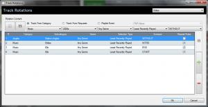 Tracks Rotation Editor